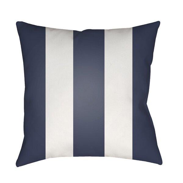 Vineyard Modern Striped Outdoor Throw Pillow by Surya