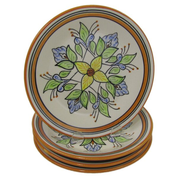 Salvena Stoneware 8 Salad Plate (Set of 4) by Le Souk Ceramique