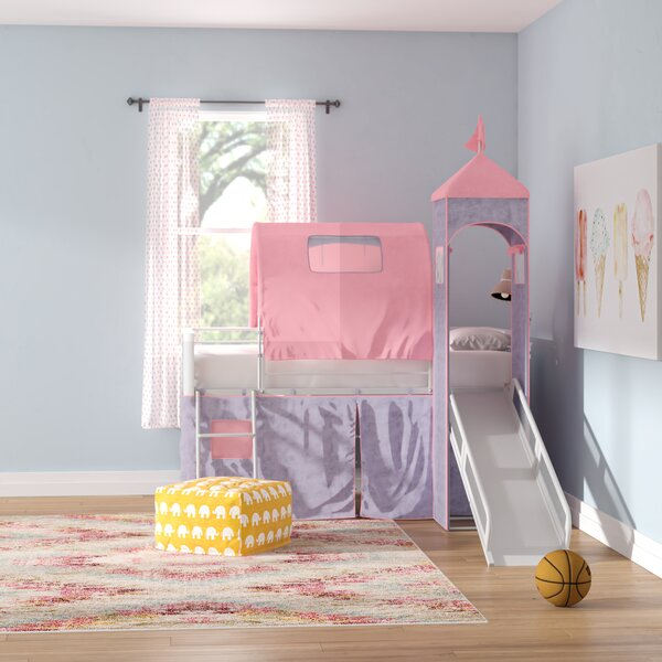 Braylee Twin Low Loft Bed by Harriet Bee