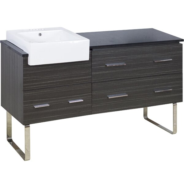 Bartron 61 Single Bathroom Vanity Set by Orren Ellis