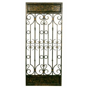Metal Gate Wall Decor gate wall decor | wayfair