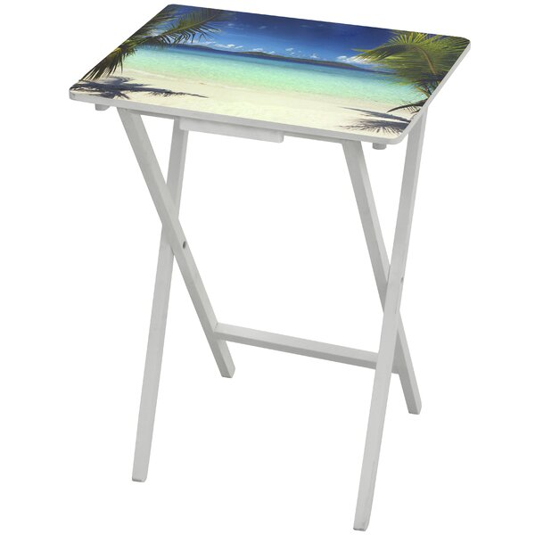 Caribbean Beach TV Tray by Oriental Furniture