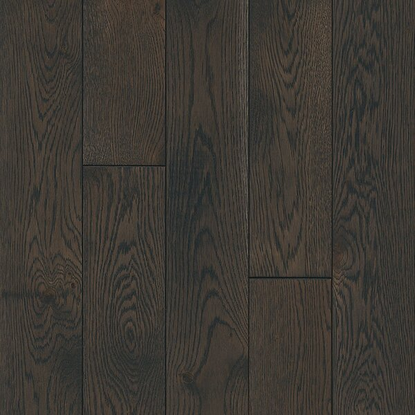 Timberbrushed 5 Solid Oak Hardwood Flooring in Shadow Play by Armstrong Flooring