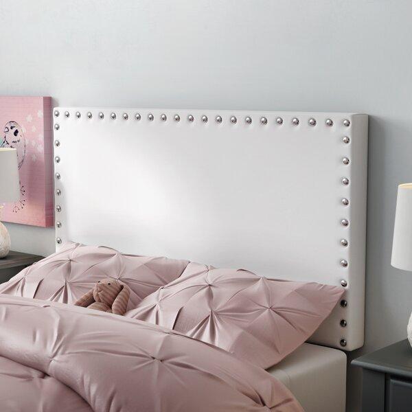 Preiss King Upholstered Panel Headboard by Wrought Studio