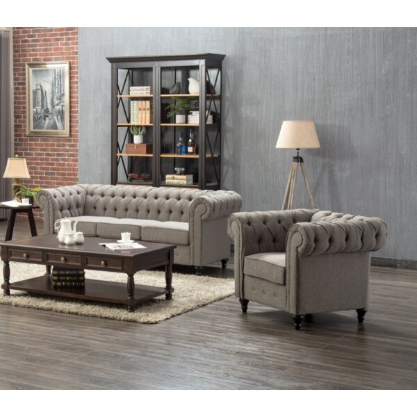 Amburgey 2 Piece Living Room Set by Darby Home Co