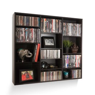 Multimedia Wall Mounted Media Storage