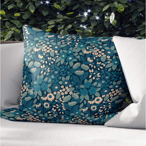 Ellston Outdoor Square Pillow Cover and Insert