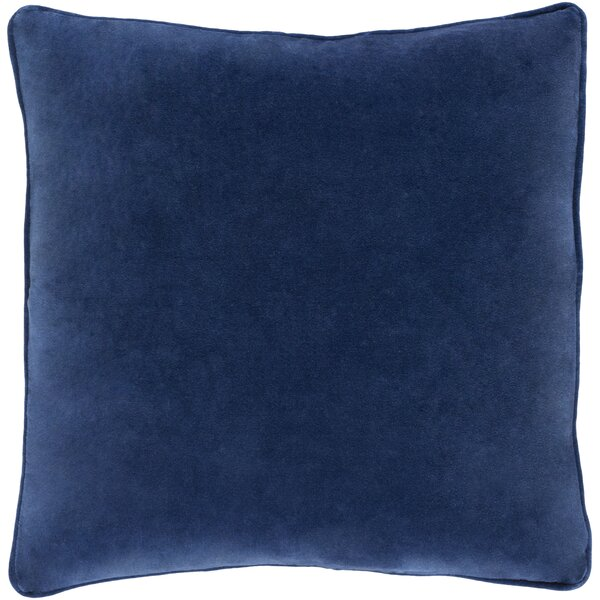 Baylie Cotton Velvet Throw Pillow by Willa Arlo Interiors