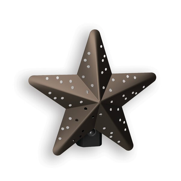 Tin Star Incandescent Night Light by AmerTac
