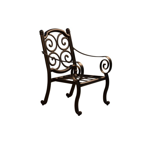 Westhampton Patio Dining Chair (Set of 2) by Fleur De Lis Living