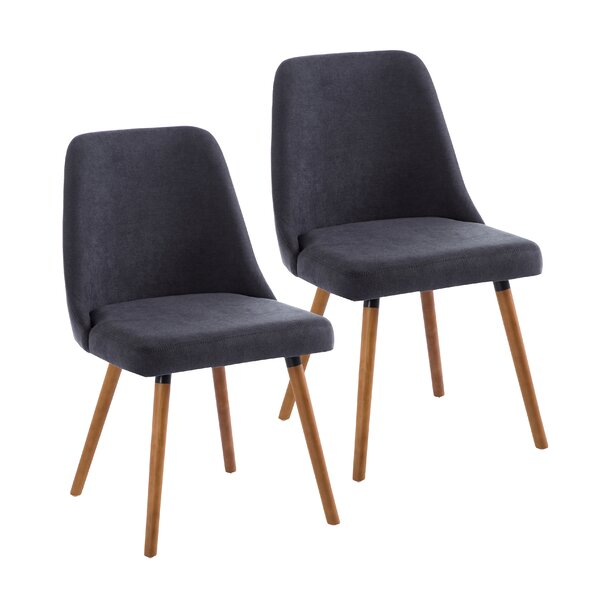 Mccutcheon Upholstered Dining Chair (Set of 2) by George Oliver George Oliver