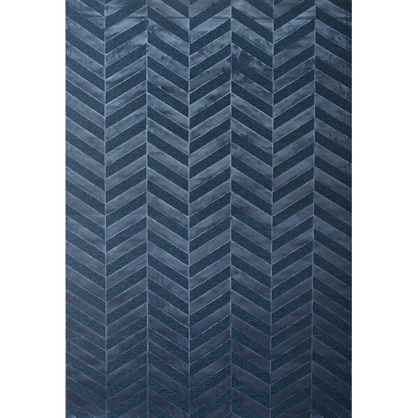 Teague Cobalt Area Rug by Brayden Studio