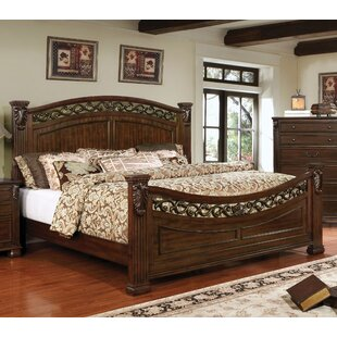 Bucholz Traditional Panel Bed by Fleur De Lis Living