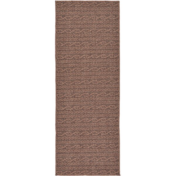 Robbinston Brown Outdoor Area Rug by Bay Isle Home