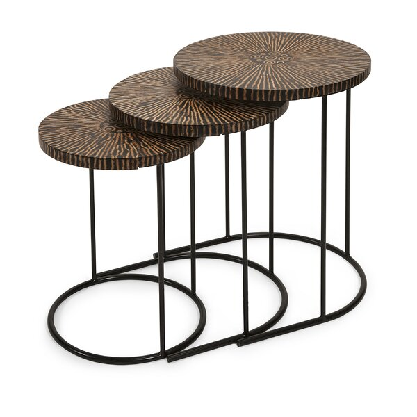 Review Asro Coco 3 Piece Nesting Table