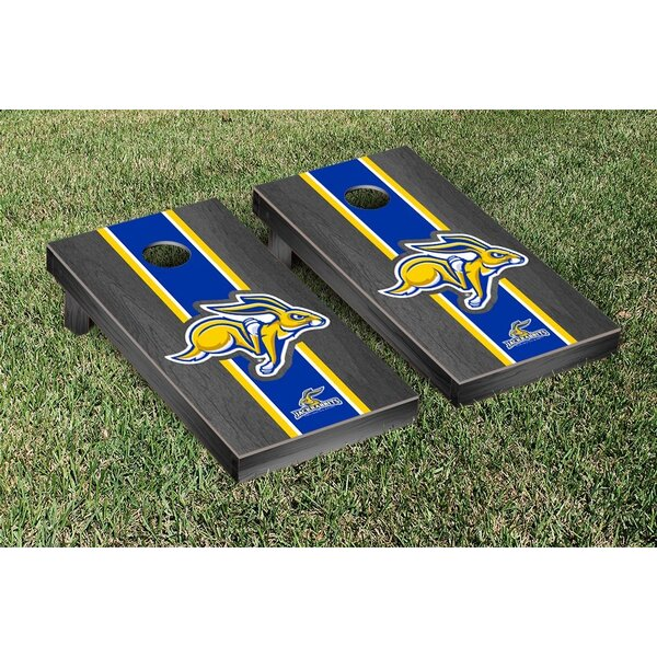 South Dakota State University Jackrabbits Version Cornhole Game Set by Victory Tailgate