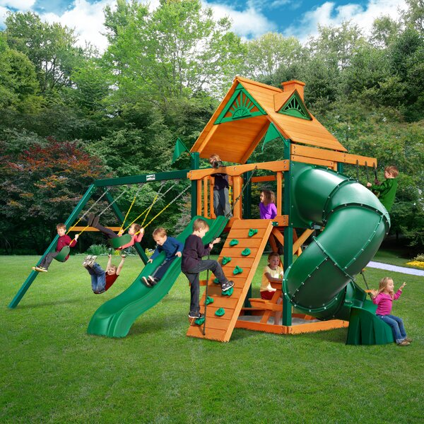 Mountaineer Swing Set by Gorilla Playsets