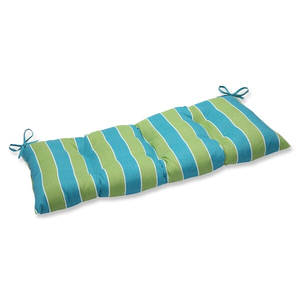 Wickenburg Indoor/Outdoor Loveseat Cushion by Pillow Perfect