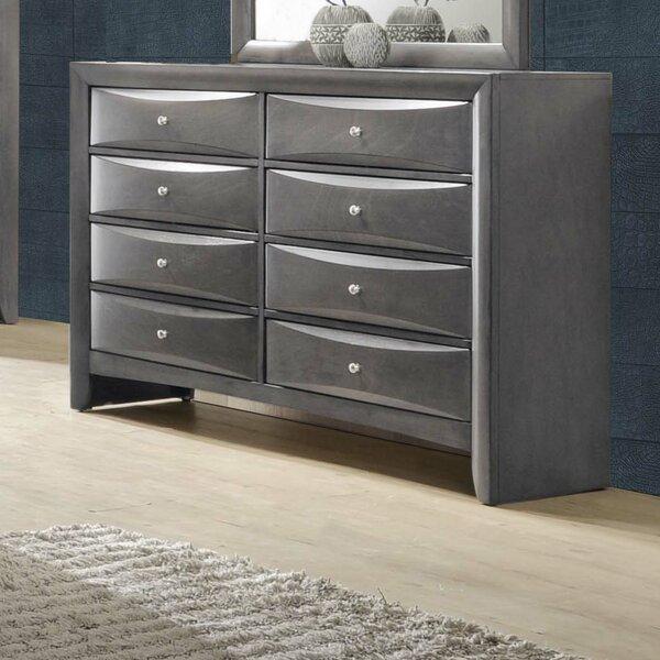 Ishmael 8 Drawer Double Dresser by Latitude Run