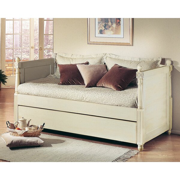 Monterey French Daybed with Pop-Up Trundle by Alligator