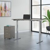 Tresanti Adjustable Desk Wayfair Ca