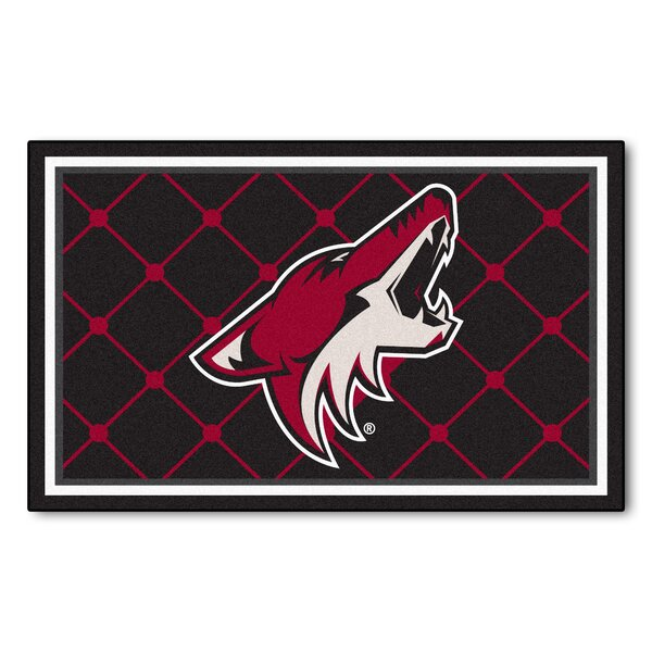 NHL - Arizona Coyotes 5x8 Doormat by FANMATS