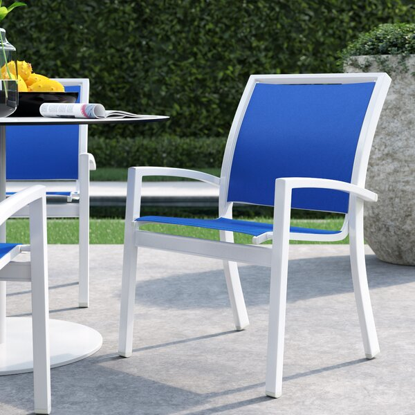 Kendall Stacking Patio Dining Chair by Telescope Casual