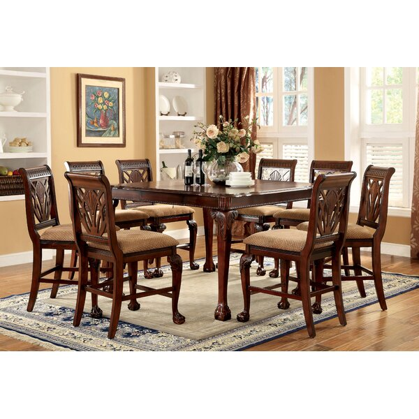 Coleman 9 Piece Counter Height Pub Table Set by Astoria Grand