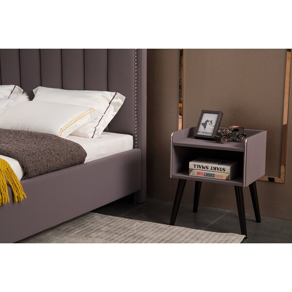Mable 1 Drawer Nightstand by Mercer41