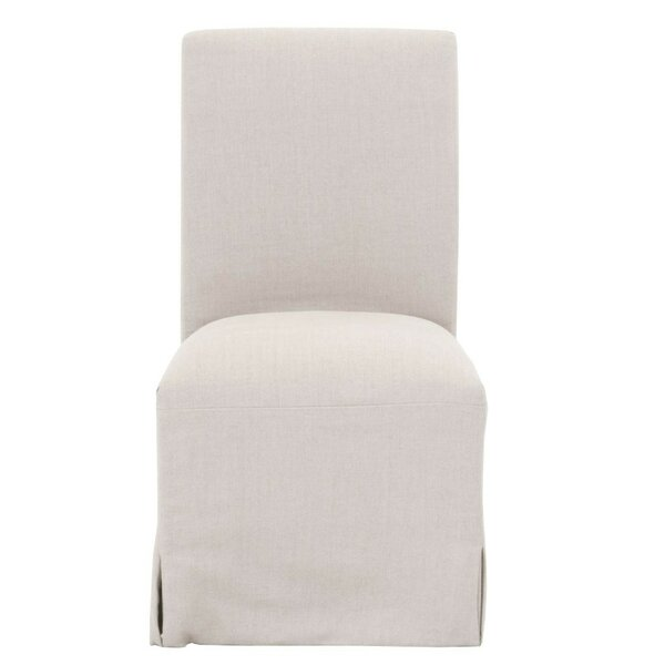 Mcdonald Linen Upholstered Dining Chair (Set of 2) by Canora Grey