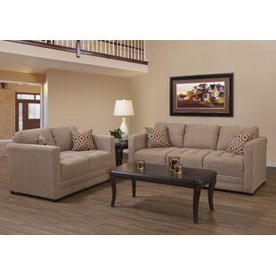 Duquette 2 Piece Configurable Living Room Set by Andover Mills™