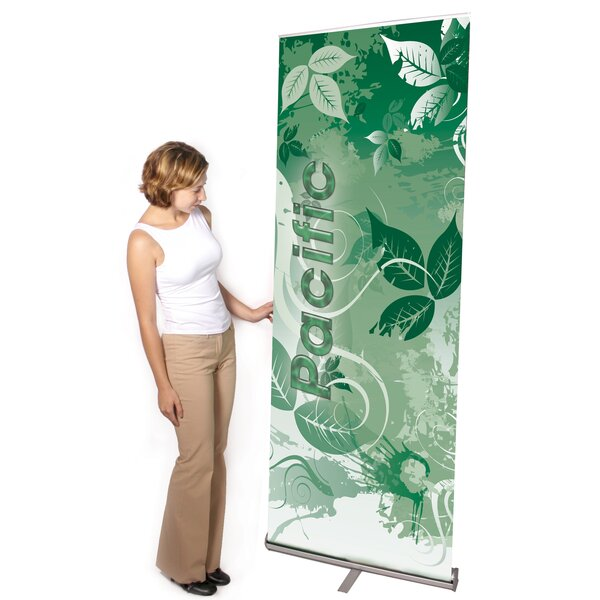 Multiple Size Pacific Banner Stand by Exhibitor's Hand Book