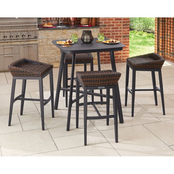 Eileen Salino 5 Piece Bar Height Dining Set by Bayou Breeze