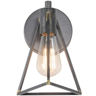 Great Price Ambrose 1-Light Bath Sconce ByWilliston Forge