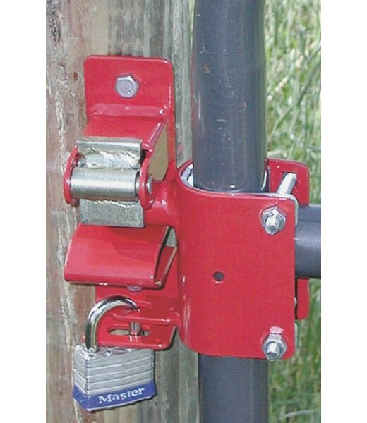 1-Way Lockable Gate Latch by Speeco