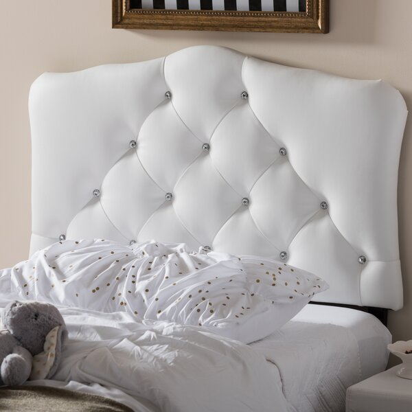 Lindeman Twin Upholstered Panel Headboard by Harriet Bee