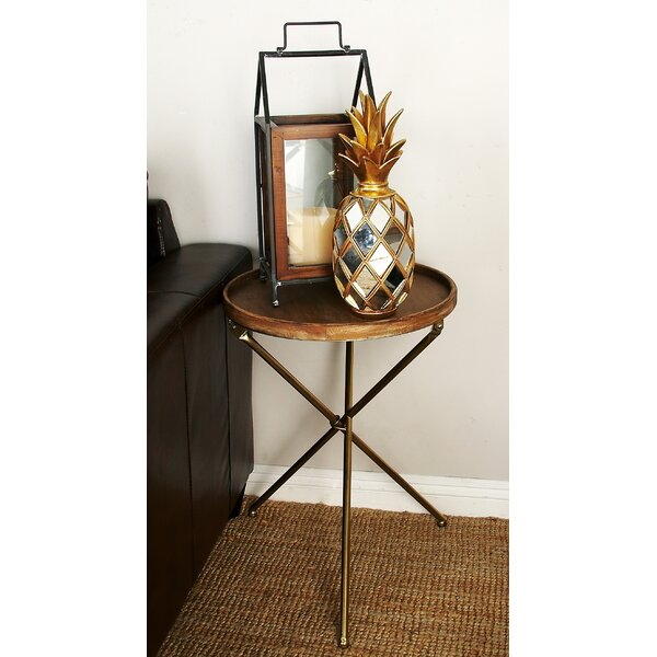 Metal and Wood Tray Table by Cole & Grey
