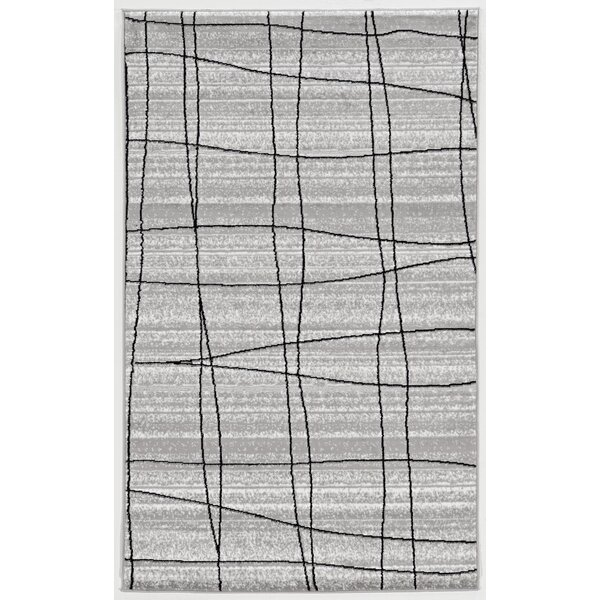 Messer Gray Area Rug by Wade Logan
