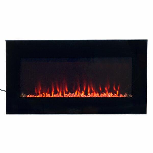 Arlo Wall Mounted Electric Fireplace by Wade Logan