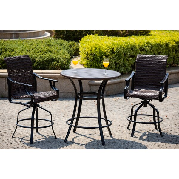 Halladay 3 Piece Seating Group with Cushions