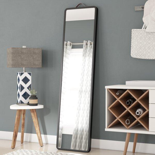Modern Floor Leaning Full Length Mirror by Latitude Run