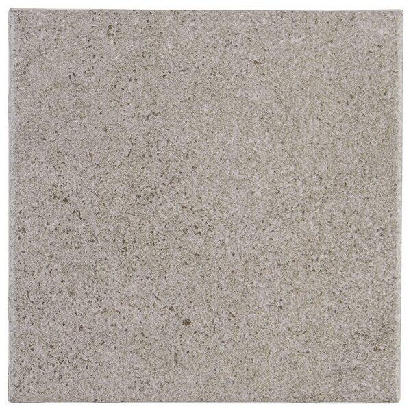 Freeport 6 x 6 Ceramic Field Tile in Gray by Itona Tile