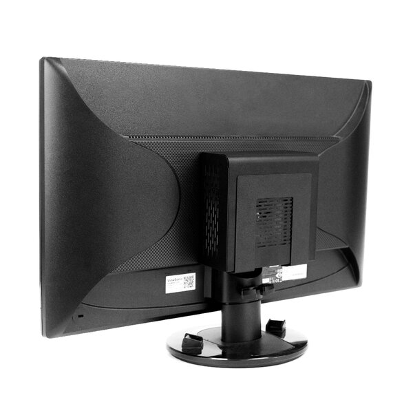 Adjustable Small Wide VESA Computer Mounting System by HIDEit Mounts