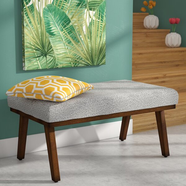 Zachary Decorative Upholstered Bench by Langley Street