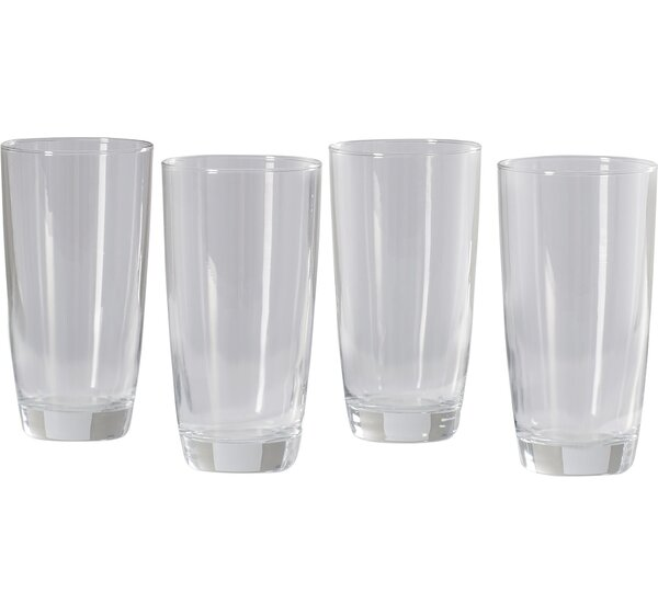 Molena 16 oz. Highball Glass (Set of 4) by Mint Pantry