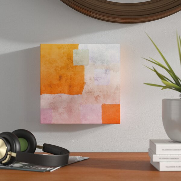 Abstract Squares I Painting Print on Wrapped Canvas by Langley Street