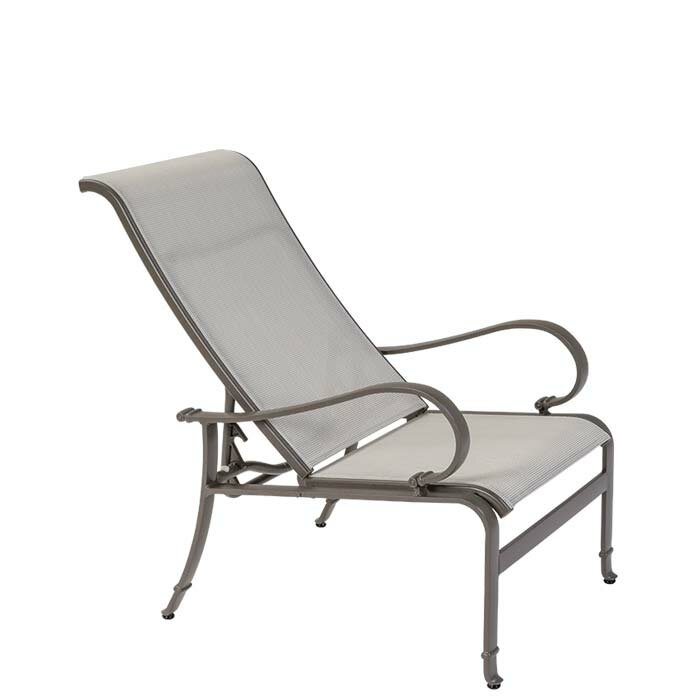 Torino Sling Recliner Patio Chair