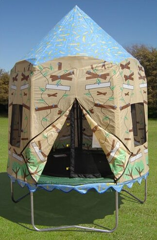 Treehouse Trampoline Tent by Bazoongi Kids