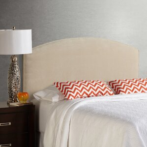 Lesa Velvet Curved Upholstered Headboard by House of Hampton