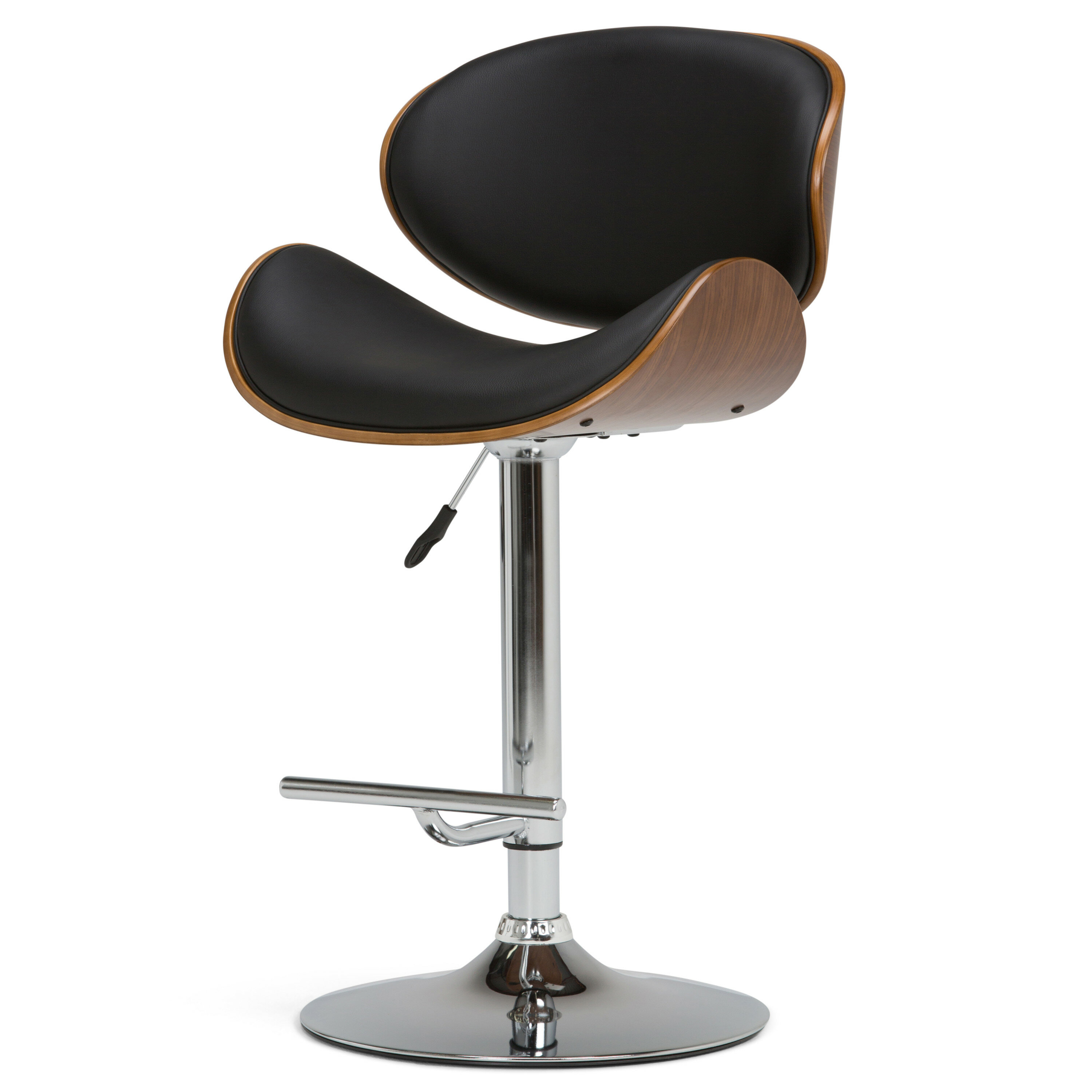 Pleasant George Oliver Harbison Adjustable Height Swivel Bar Stool Caraccident5 Cool Chair Designs And Ideas Caraccident5Info